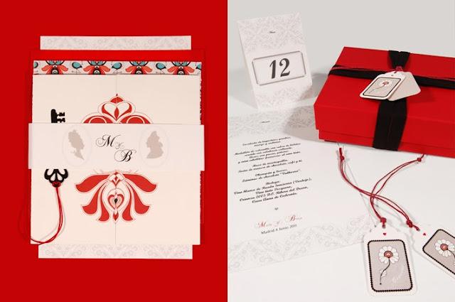 Paquete de papelería para bodas