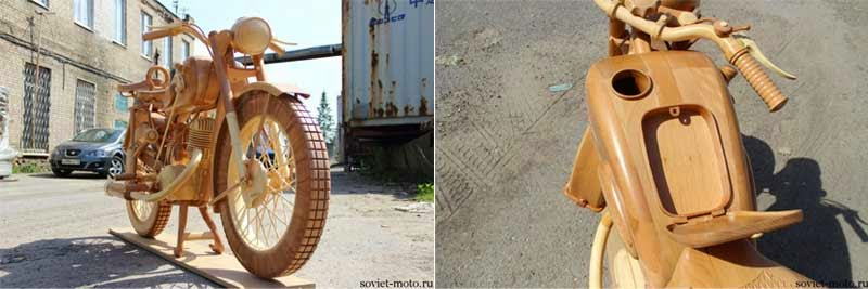 gambar motor kayu