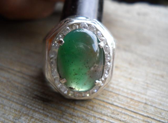 AG65- Batu Garut Hijau Kristal...Mantab !!!_SOLD