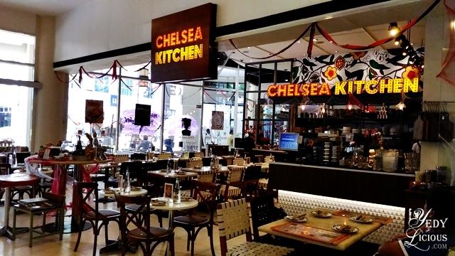 Chelsea Kitchen, Eastwood Mall Libis | YedyLicious Manila Food Blog ...
