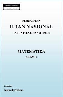 Pembahasan Soal UN, Soal UN Matematika SMP 2012, Soal UN Matematika SMP, Soal UN Matematika