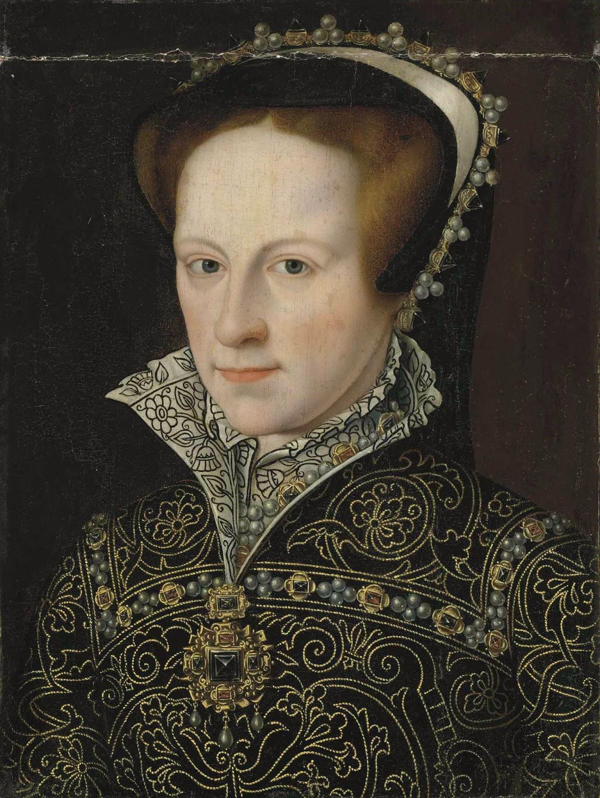 Ambito di Anthonis Mor, La regina Maria I Tudor, XVI sec. - after_antonio_mor