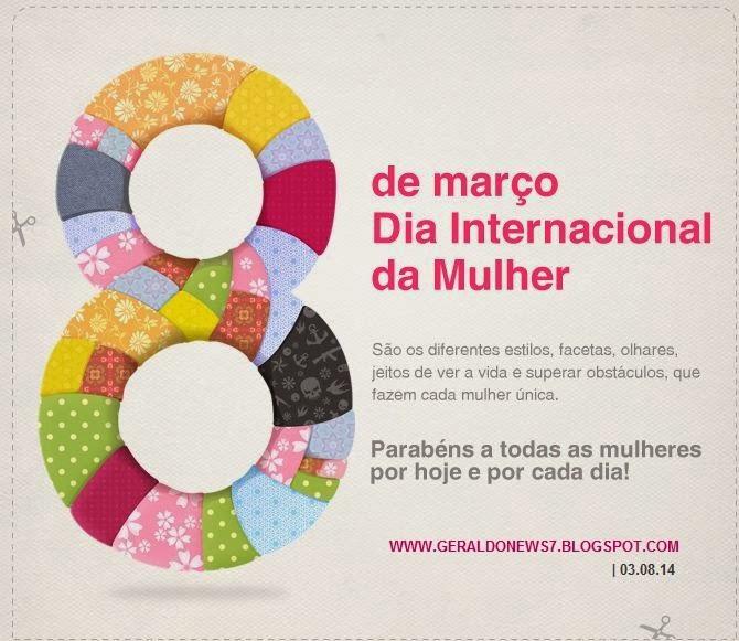 Dia Internacional Mulher 8 Março 2013 Frases E Mensagens