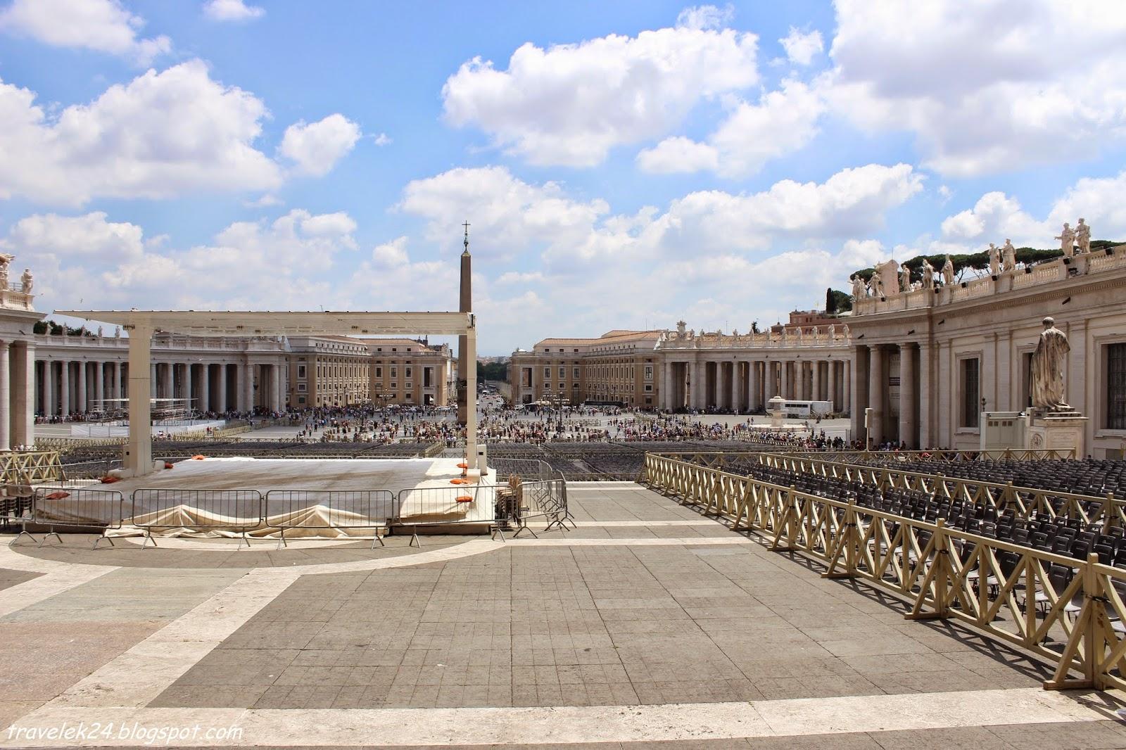Plac św. Piotra Watykan