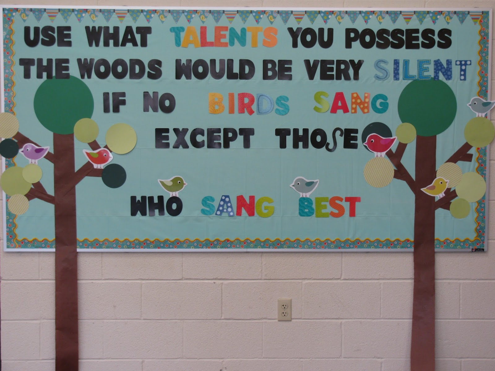Kodaly inspired classroom the woods would be very silent for Board of ideas