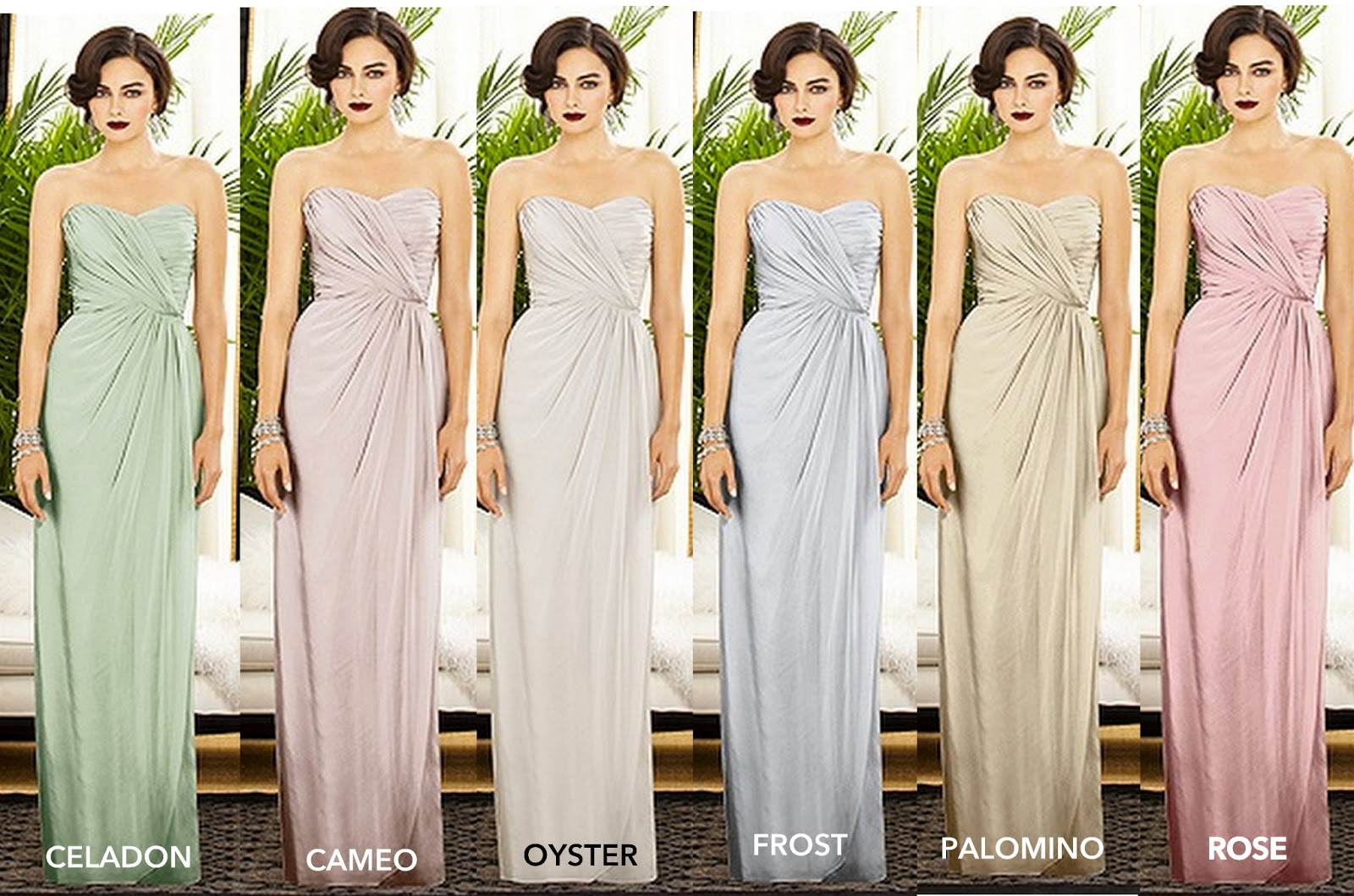 The rose colored aisle april 2013 bridesmaids dresses 50 shades of neutral ombrellifo Image collections