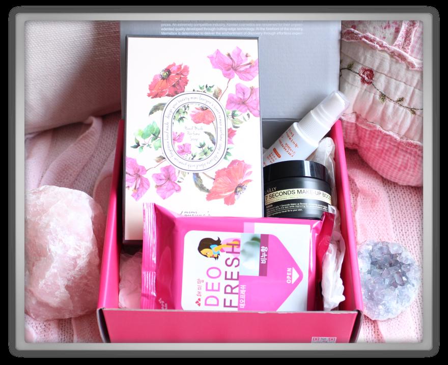 겟잇뷰티박스 by 미미박스 memebox beautybox scentbox 2 baby powder unboxing review preview box look inside