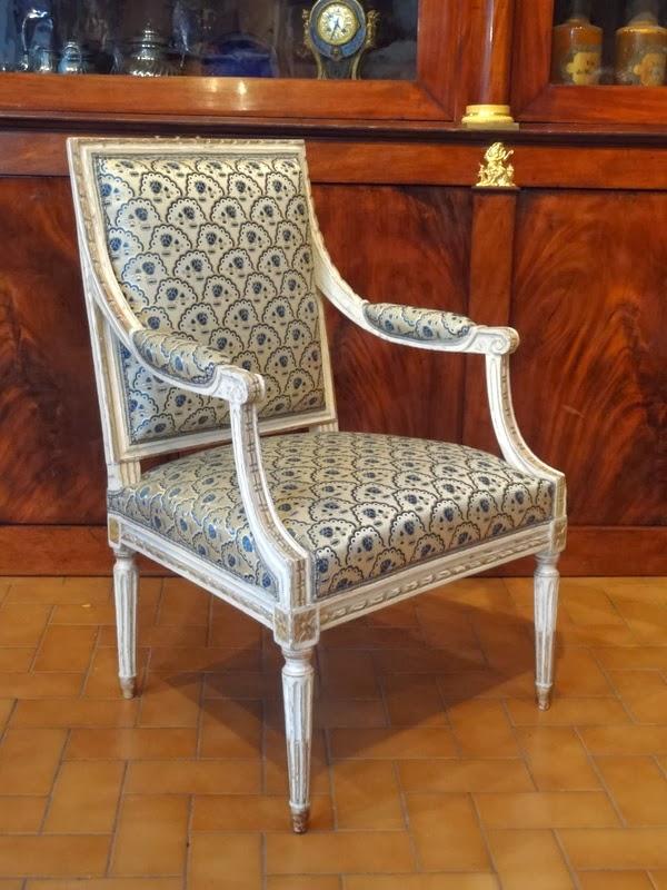 Il blog degli antiquari: La storia della poltrona Luigi XVI, simbolo ...