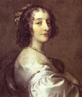 Sophie van de Palts, geschilderd door Peter Lely
