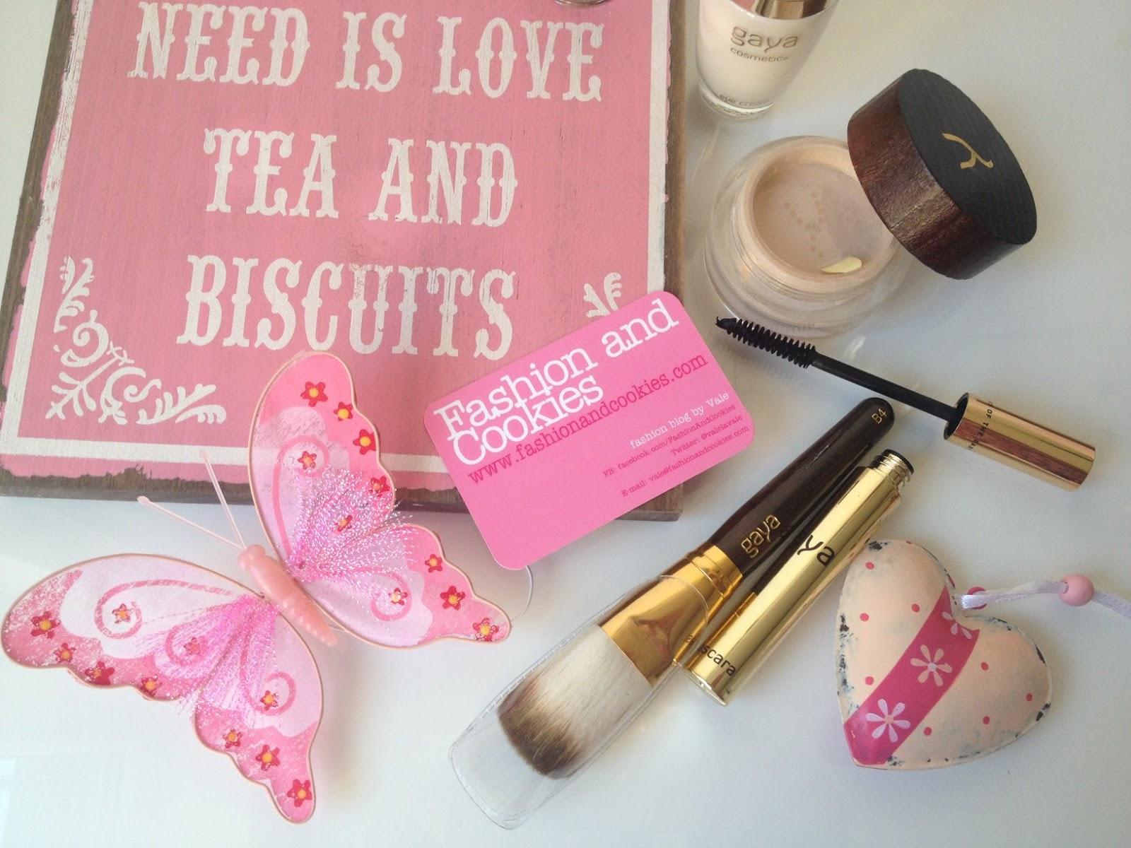 Gaya Cosmetics haul, Gaya review, Gaya mineral foundation on Fashion and Cookies fashion and beauty blog