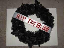 True Blood Funeral Wreath @northmanspartyvamps.com