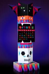 calendario para imprimir e montar outubro 2012