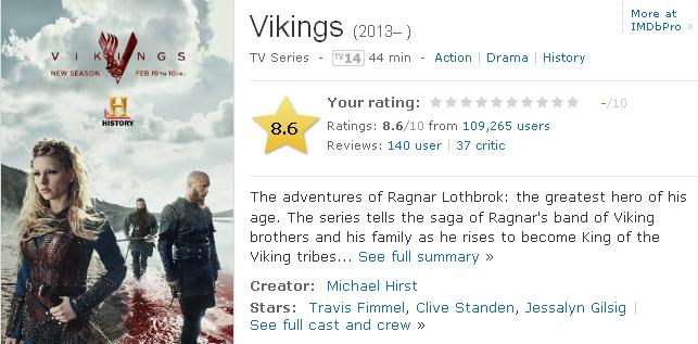 Tv Series Vikings Nonton Movies Streaming Nonton Tv Series