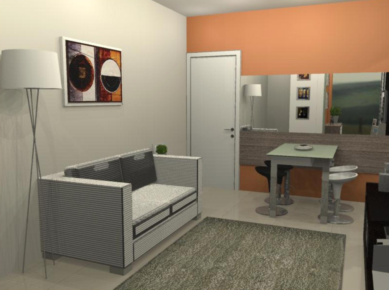 Decoracao Sala Homem ~ decoracao sala homem solteiroKAZE arquitetura Apartamento do Homem