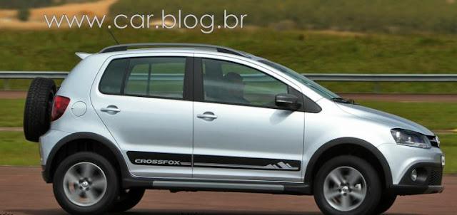 VW CrossFox 2012 - Prata Sargas