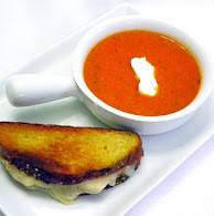Michael Symon's Spicy Tomato and Blue Cheese Soup 10.18.11