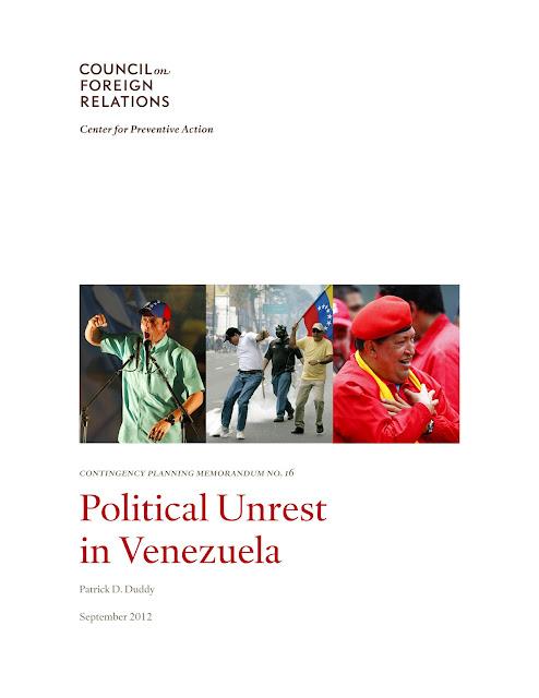US Prepares for Overthrow of Venezuela | VEN_CFR_Contingency_Report | Government Government Corruption News Articles Obama Exposed Politics Propaganda Protestors & Activists US News War Propaganda World News