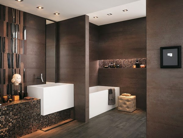 12 صور تصاميم حمامات عصرية   ديكورات حمامات كبيرة و ضيقة   الوان و نقوش حوائط حمامات مودرت