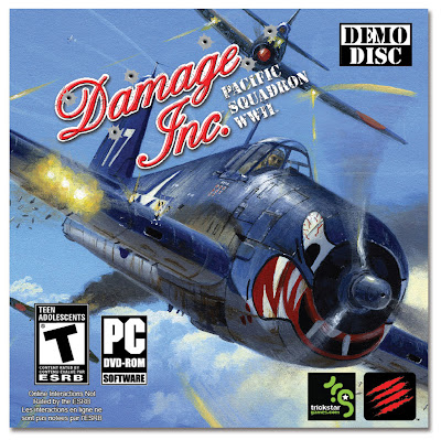 Damage Inc. Pacific Squadron WWII PC Cover - We Know Gamers