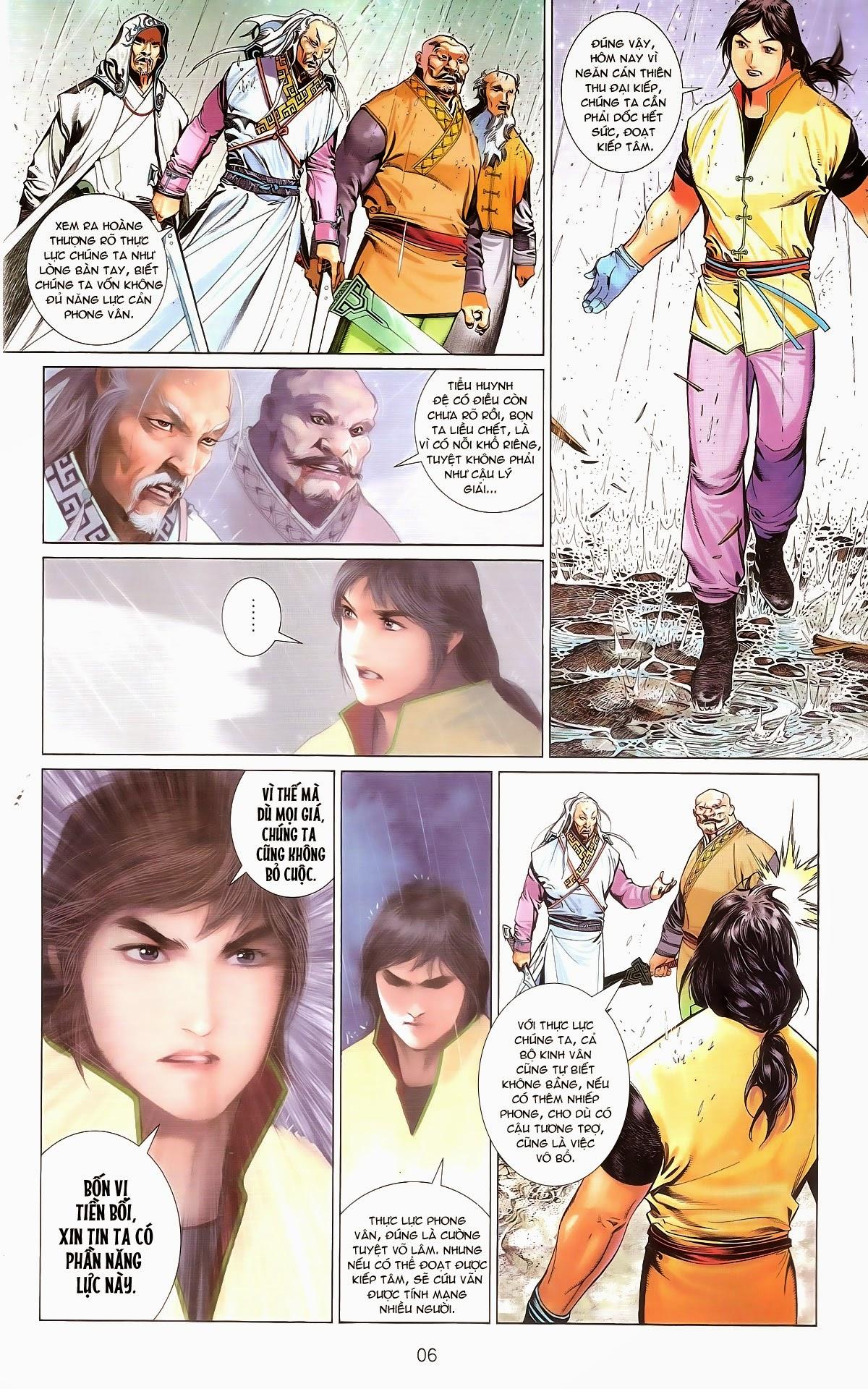 Phong Vân chap 674 – End Trang 8 - Mangak.info