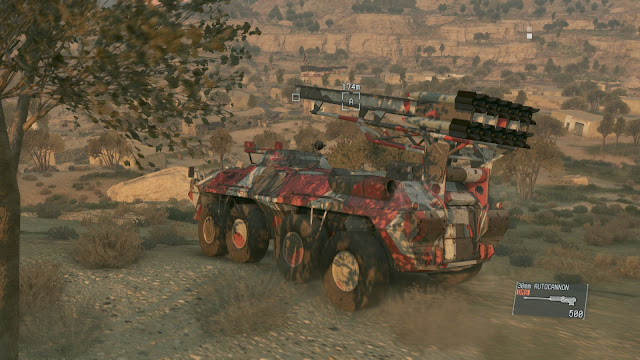 Metal Gear Solid V: The Phantom Pain afghanistan armored vehicle