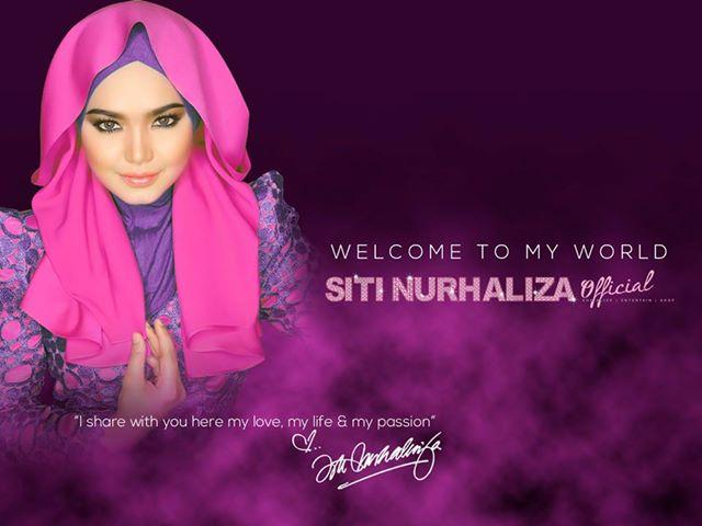 Fesyen Tudung Siti Nurhaliza Terkini di Facebook Official