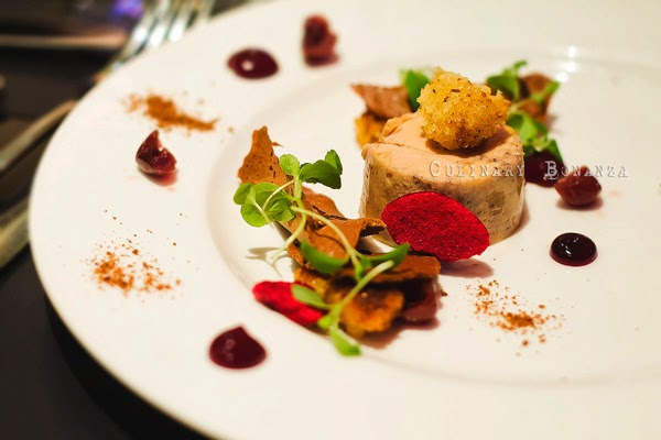 Foie Gras, Cherry, Spiced Wine, Brioche by Chef Ryan Clift (Culinary Bonanza)