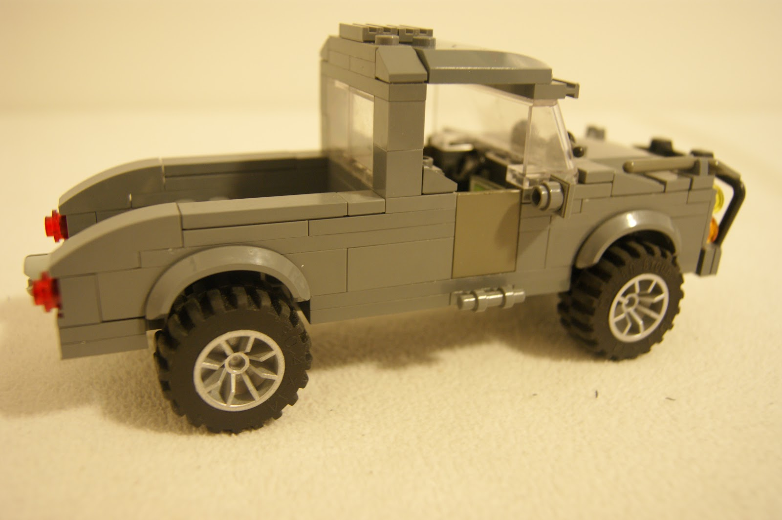 how to make a lego truck camper
