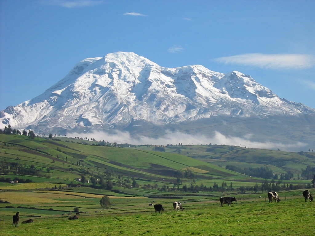 Mt. Chimborazo - Highest Point of the Center of the Earth
