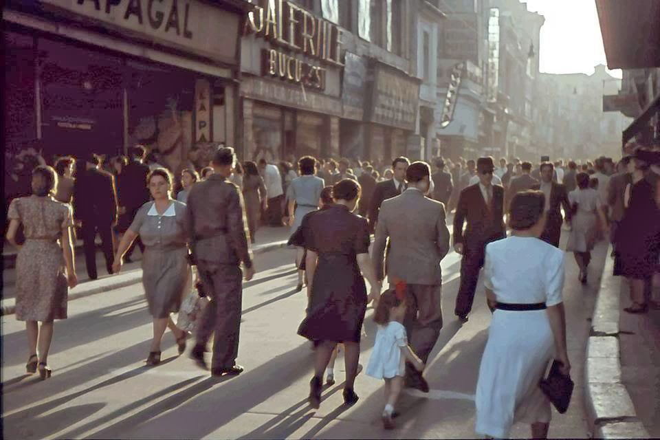 Bucharest In Color Ca 1940 S Vintage Everyday