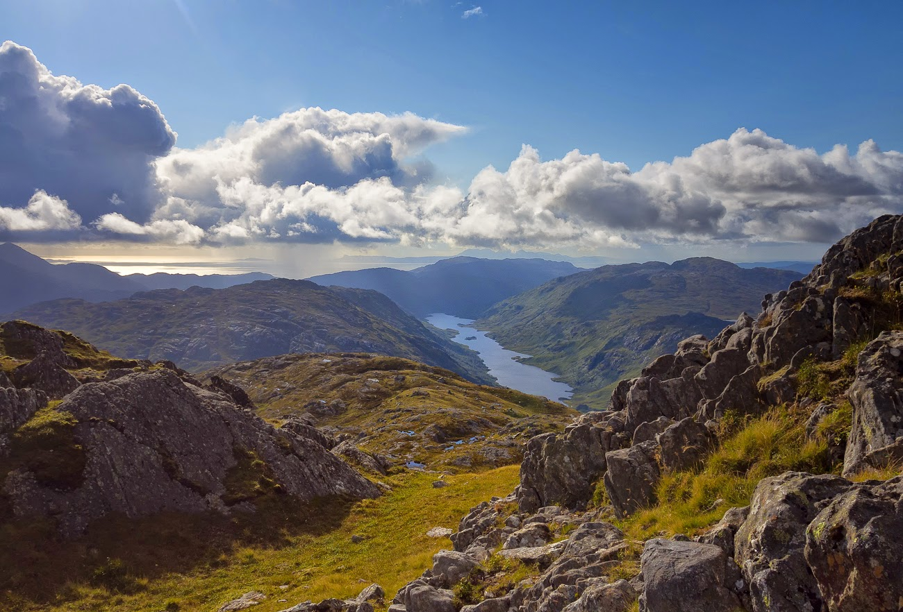 Photo of Loch Beoraid from Sgurr an Utha