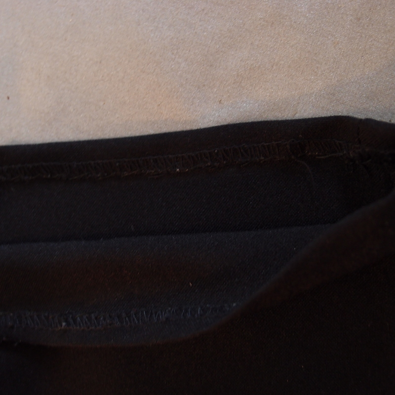 eight acres: hand sewing - adjusting a hem