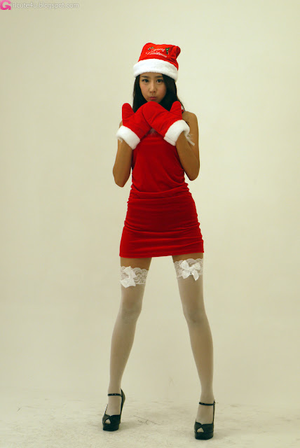 3 Santa Park Hyun Sun-very cute asian girl-girlcute4u.blogspot.com