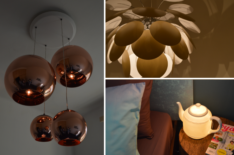 designblok, lamp, design, modern, light, teapot, floral
