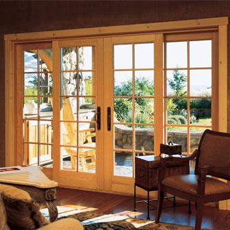 Modern home interior design modern french doors interior for Interior french patio doors