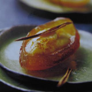 Recetas: Canastas de Naranja Confitada a la Canela