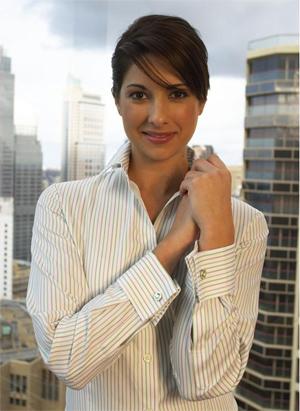 Fashion designing french cuff shirts French cuff shirt women
