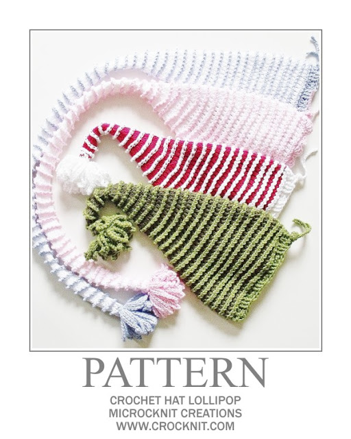 crochet patterns, how to crochet, baby hats, long tail, pixie, elf, santa, newborn,