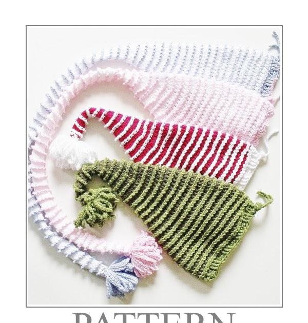 Free Crochet Pattern Long Tail Elf Hat : MICROCKNIT CREATIONS: Perfect Crochet Hat CHRISTMAS SANTA ...