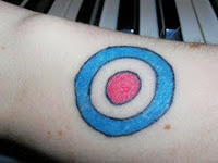 bullseye tattoo