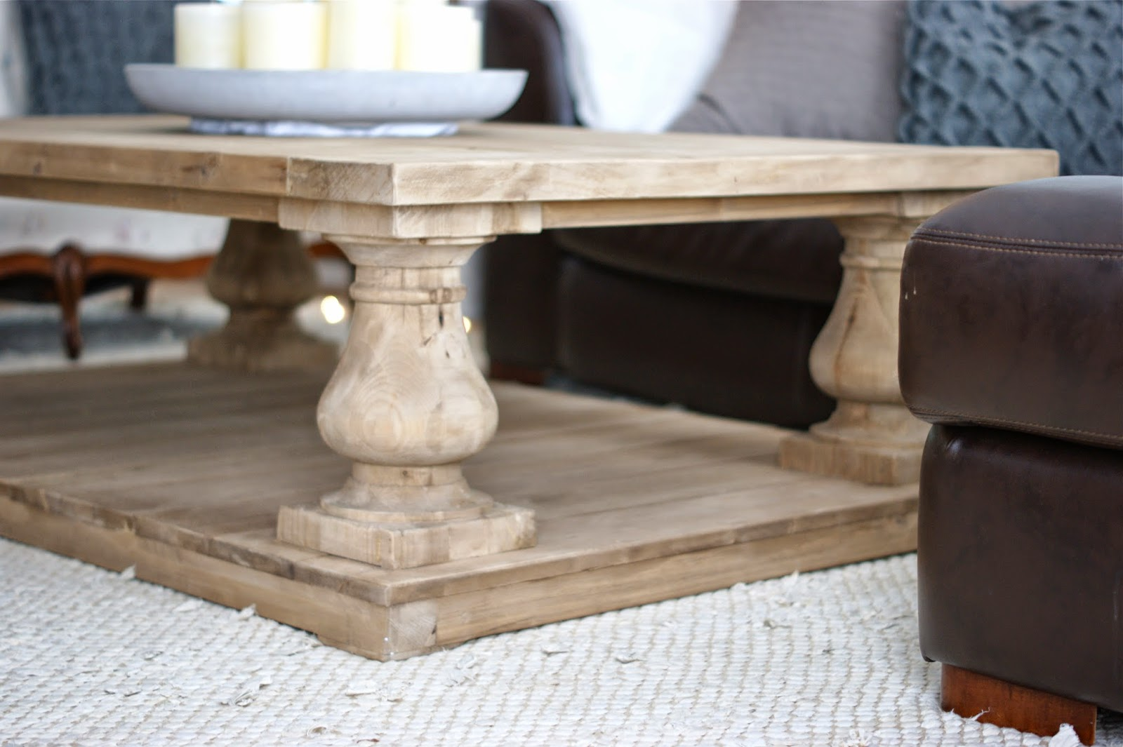 Meggie frue meggie frue at home balustrade coffee table Restoration coffee tables