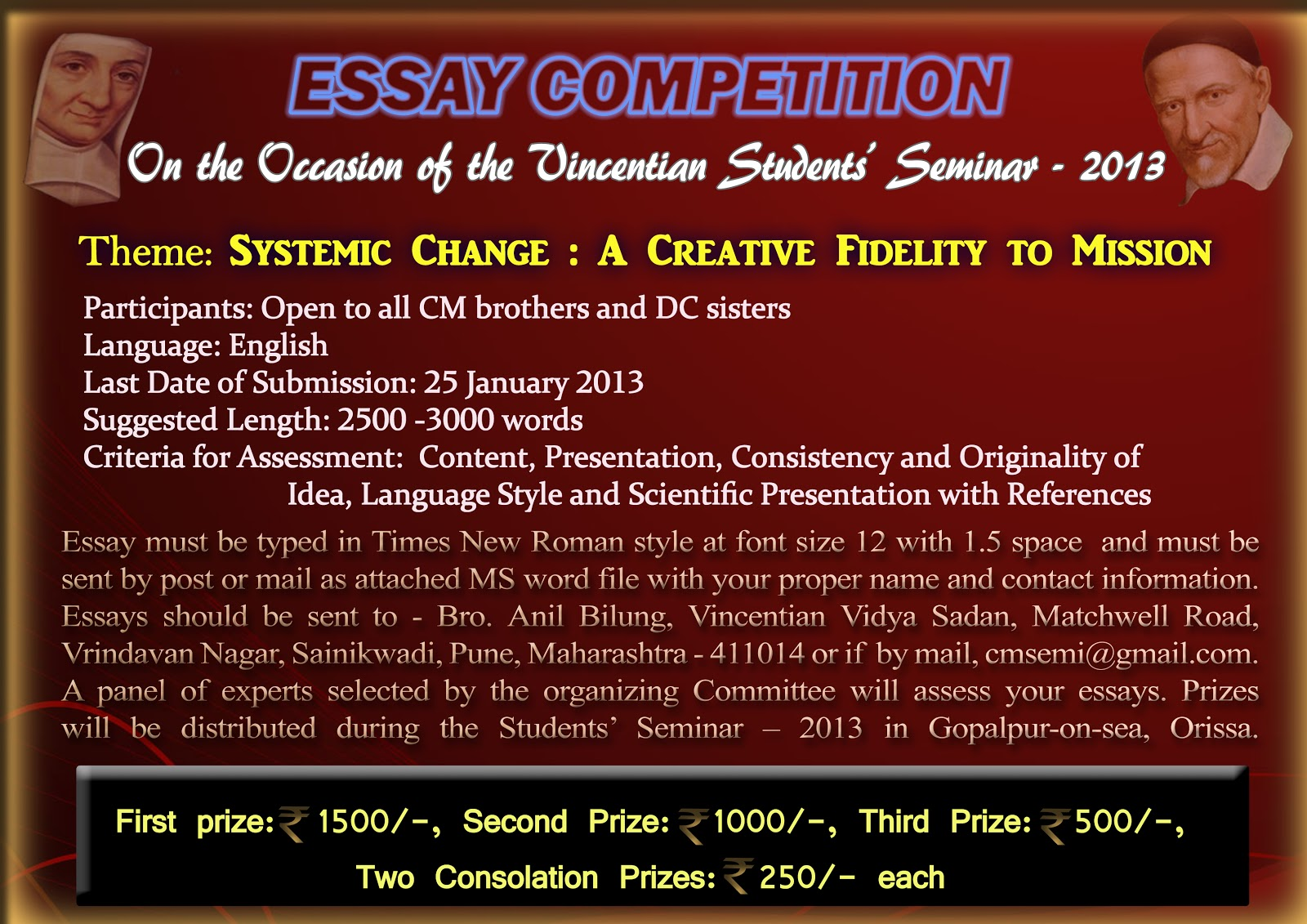 international essay writing competition 2013 Gulen institute youth platform donate 2012 winners' essays 2013 winners it is an international essay contest that aims to involve the world's youth in.