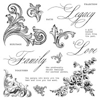 CTMH March Stamp Of The Month - Family Legacy