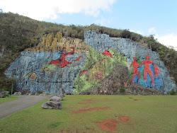 Mural de La Prehistorica, Vialle de Vinales