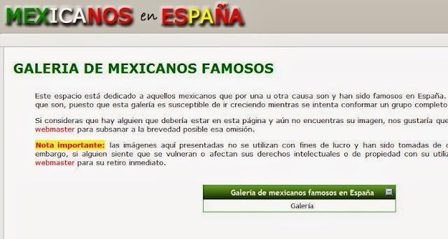 http://www.mexicanosenespana.com/galeria.htm