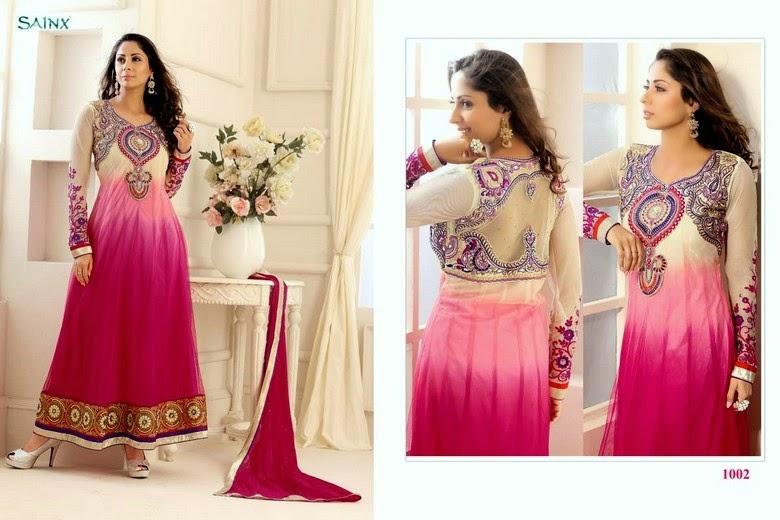 Indian Anarkali Dresses 2014 for Girls