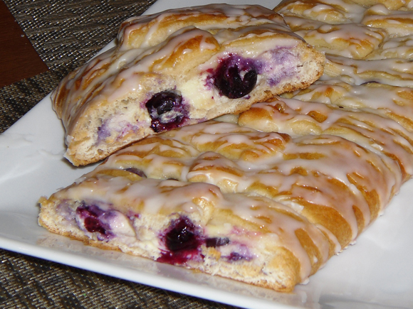 Recipe Pinch Of Lime Blueberry Cheese Danish Coffee Cake