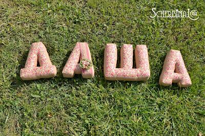 Буквы подушки, текстильные буквы, Даша