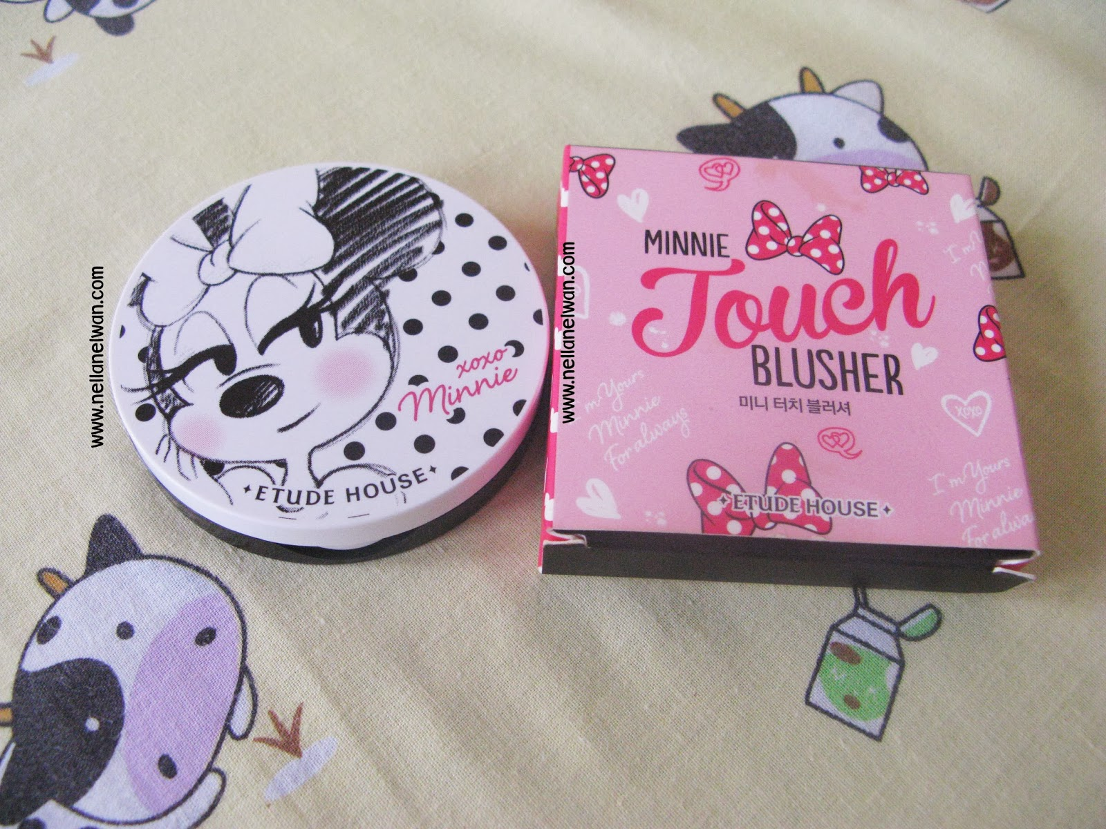 etude house minnie touch blusher