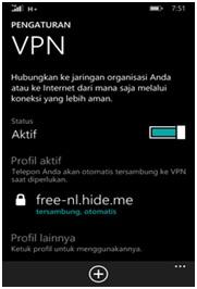 Cara Menggunakan VPN (Agar Bisa Mengakses Apa Saja) dalam Windows Phone
